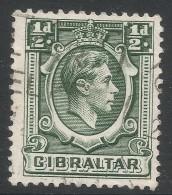 Gibraltar. 1938-51 KGVI. ½d Used. SG121 - Gibraltar