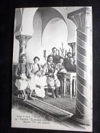 MARSEILLE EXPO LA TUNISIE INTERIEUR D'UN CAFE - Expositions Coloniales 1906 - 1922