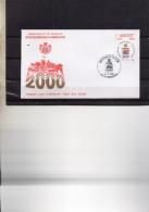 8FDC MONACO     EXPOSITIONS PHILATELIQUES   TIMBRE    N° YVERT ET TELLIER   2229  1999 - FDC