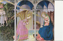 ES.- Museo Del Prado. Fray Angelico. La Anunciacion.   2 Scans - Museum