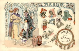 FRANCE - La Coiffure En Arabie - Thèmatique Coiffeur - A Voir - P20279