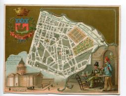 Chromolithographie Monuments Paris Panthéon - Cromos