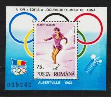 1992 - Jeux Olimpiques D Hiver A Albetville Y&T Bf 215 Et Mi No 270 - Blocks & Kleinbögen