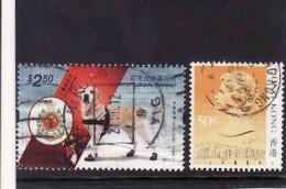 Hong Kong 2012, Yvert 1592, Dog Labrador Retriever + Hon Kong 1987 - Michel - 509,obliteres, Used - Oblitérés