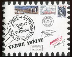 TAAF ** Carnet De Voyage  2001  - C308  - TB - Booklets