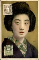 JAPON - Belle Japonaise - Thématique Coiffure - A Voir - P20312 - Japon