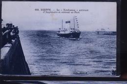 DIEPPE LE NEWHAWEN - Dampfer