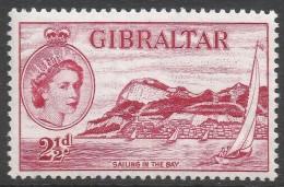 Gibraltar. 1953-59 QEII. 2½d MH. SG149 - Gibraltar