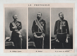 Le Protocole Crozier Mollard Baron De Roujoux - Unclassified