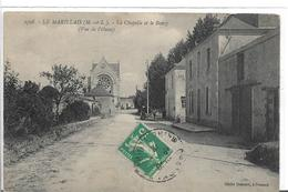 Maine Et Loire LE MARILLAIS Chapelle Et Bourg   ......cl - Francia