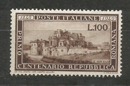 Italie Italy Italia - Yv.537 Mi.773 Neuf / MH / * 1949 (very Light Hinged But A Short Perforation) - 1946-60: Nuovi