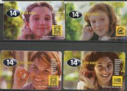 Bresil. Telecartes ENFANTS (lot De 4) - Brasilien