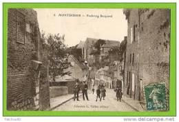 80 --  MONTDIDIER --  Faubourg  Becquerel ---    ( Tampon Au Dos,à Voir !!) --- V 86 - Montdidier