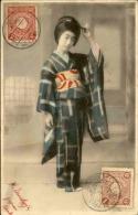 JAPON - Belle Japonaise - Thématique Coiffure - A Voir - P20323 - Osaka