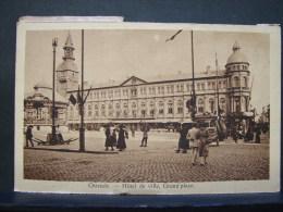 PT. 35. Ostende. Hôtel De Ville Grand Place. - Oostende