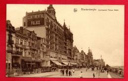 Blankenberghe. La Digue. Hôtel Palace Continental. Au Vieux Temps. Café De Paris. 1936 - Blankenberge