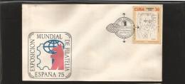 E)1974 CUBA, JOLIOT-CURRIE BY PICASSO 1945 A511, 1ST WORLD PEACE CONGRESS, 25 ANNIV, WORLD PHILATELIC EXHIBITION'75, MAR - Kuba