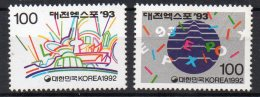 COREE DU SUD - 1992 - EXPOSITION INTERNATIONALE - TAEJON 93 - - Corée Du Sud