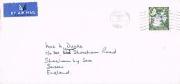 18721. Carta Aerea CAUSEWAY (South Rhodesia) 1962. Rhodesia Nyasaland Stamp - Rodesia & Nyasaland (1954-1963)