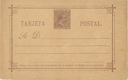 18723. Entero Postal 10 Cts Alfonso XIII Pelon. Edifil Num 19 ** - 1850-1931