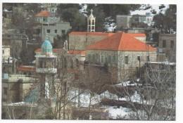 Kfarhouna In Jezzine From Lebanon Houses , Carte Postale Liban Libanon - Lebanon