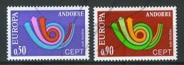 VEND BEAUX TIMBRES D´ANDORRE N°226+227 , XX !!!! - Andorre Français