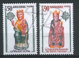 VEND BEAUX TIMBRES D´ANDORRE N°237+238 , XX !!!! - Andorre Français