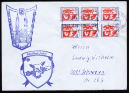 A4081) France Brief Von Bundesmarine Schnellboot FUCHS Caen 3.8.68 - Briefe U. Dokumente