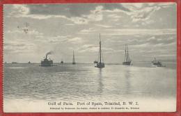 Trinidad - PORT Of SPAIN - Gulf Of Paria - 2 Scans - Trinidad