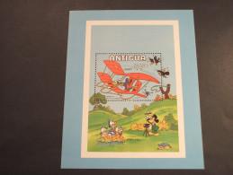 ANTIGUA - BF  1980 INFANZIA/GOOFY Che Vola, Ecc.. - NUOVO(++) - Antigua E Barbuda (1981-...)