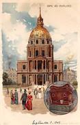 France Paris Dome Des Invalides - Litho Nister 1904 - France