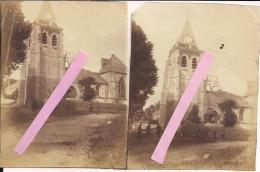 Arvillers Somme L'église 2vues 1916 Tranchées Poilus 1914-1918 14-18 Ww1 Wk1 - War, Military
