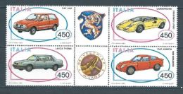 1985 - 1715/18** IN BLOCCO (CATALOGO UNIFICATO) - 1981-90: Mint/hinged