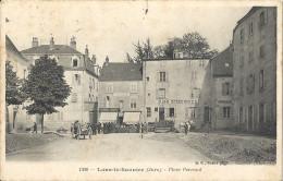 CPA Lons-le-Saulnier - Place Perraud - Lons Le Saunier