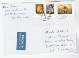 2014  GERMANY COVER Stamps TREE, FLOWERS Flower - Trees