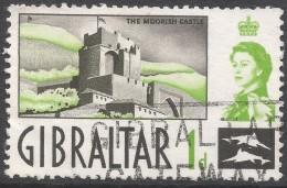 Gibraltar. 1960-62 QEII. 1d Used. SG161 - Gibraltar