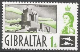Gibraltar. 1960-62 QEII. 1d MNH. SG161 - Gibraltar