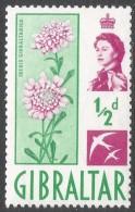 Gibraltar. 1960-62 QEII. ½d MH. SG160 - Gibraltar