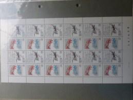 F2327 Cote 12 Euro - Hojas Completas