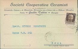 Ba56 - Gualdo Tadino - Perugia-societa' Cooperativa Ceramisti-1931 - Perugia