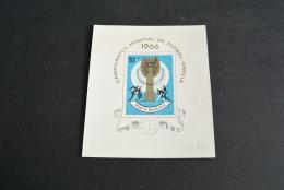 M1715- Bloc Imperf.  MNH Romania 1966- Wordlcup Foorball England - 1966 – England