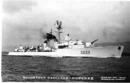 CPSM    Escorteur   D Escadre  DUPERRE - Warships