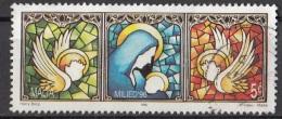 904 Malta 1996 Vetrate Madonna Col Bambino Angeli Viaggiato Used - Vetri & Vetrate