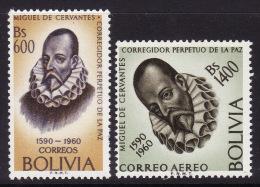 Bolivia #451, C230 Mint F-VF NH ** Cervantes - Schrijvers