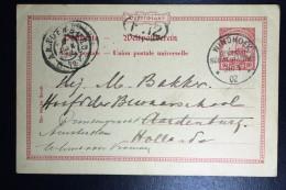 Deutsch-Südwest-Afrika Postkarte P14 Windhoek To Aardenburg To Amsterdam 1902