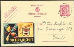 "CP Publibel N° 551 - "" TRUDO "" - Circulé - Circulated - Gelaufen - 1945. - Werbepostkarten"