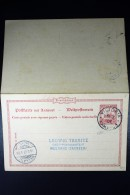 Kamerun Postkarte  P11 Victoria To Meerane 1907