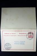 Karolinen Postkarte  P10  To Meerane Germany  1908 - Kolonie: Karolinen