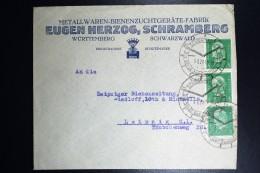 Deutschland: Schramberg Die Stadt Der Qualitätsuhren, Company Cover Strip