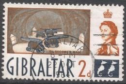 Gibraltar. 1960-62 QEII. 2d Used. SG162 - Gibraltar